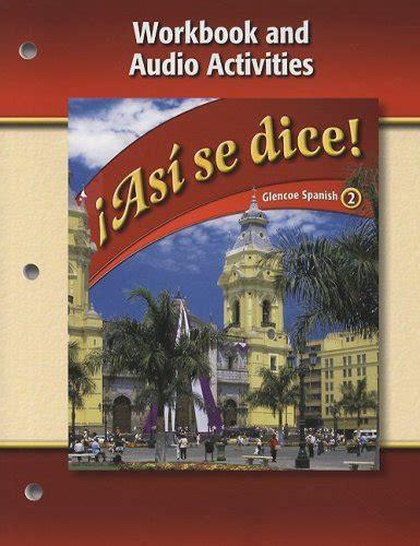 0078883822   Asi Se Dice , Volume 2: Workbook and Audio ...