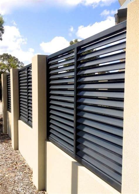 01 easy creative privacy fence design ideas | Modern fence ...