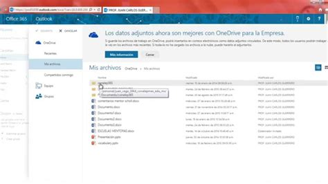03   Curso Office 365   Enviar correo con archivos ...