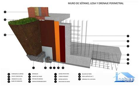 04  Muro de sótano y losa | Detalles constructivos, Diseño ...