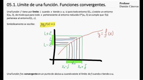 05 1 Límite de una función Funciones convergentes   YouTube