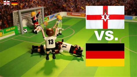 1:0 DEUTSCHLAND VS. NORDIRLAND   PLAYMOBIL EURO 2016 ...