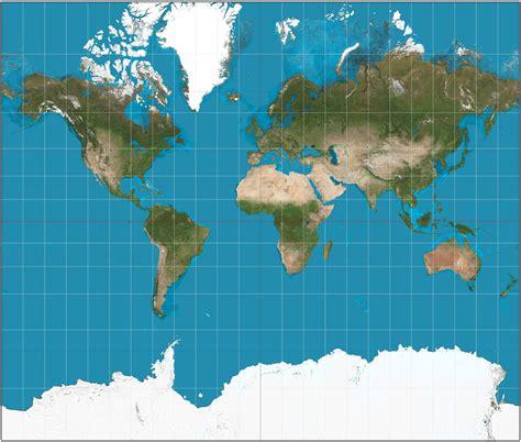 1_1.UNIVERSO: DIFERENCIAS ENTRE EL MAPA DE PETERS Y MERCATOR