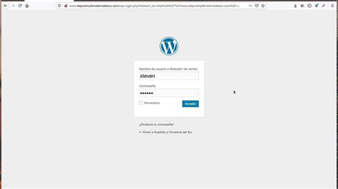 1 Cómo entrar en modo administrador  WordPress    YouTube