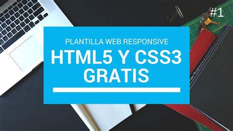 #1 Descargar Plantilla web html5 y Css3 Responsive Gratis ...