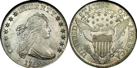 1 Dollar 1799 USA  1776     Silver Anne Willing Bingham ...