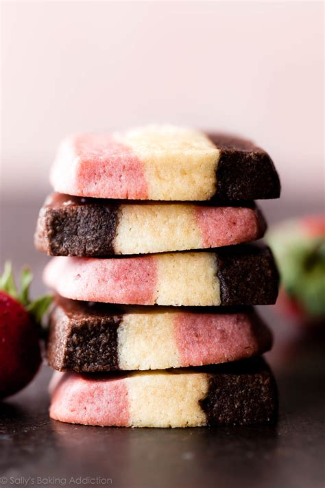 1 Dough Neapolitan Cookies | Sally s Baking Addiction