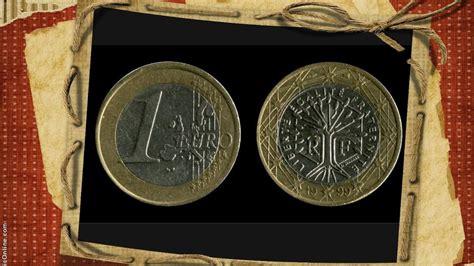 1 euro coin 1999 one euro €1 France my euro coins ...