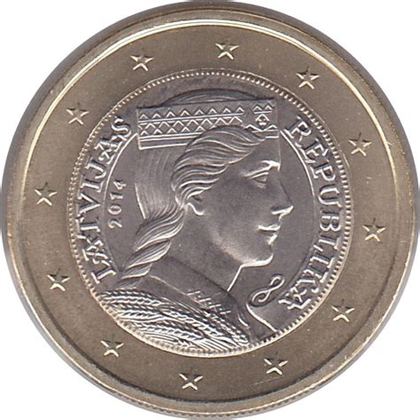 1 euro   Lettonie – Numista
