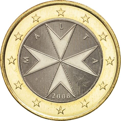 1 euro   Malte – Numista
