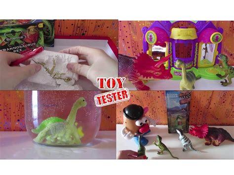 1 HORA de vídeos de juguetes de dinosaurios para niños en ...