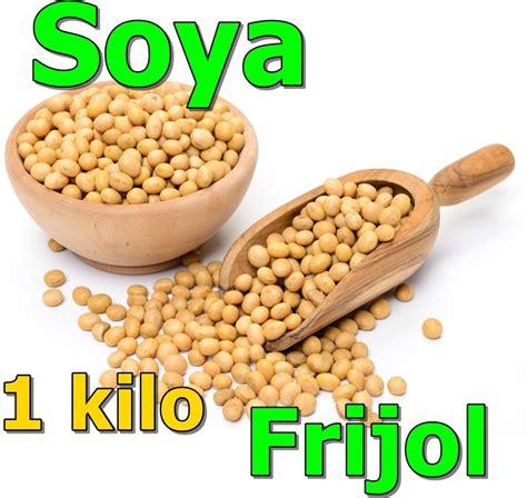 1 Kilo De Soya Entera Frijol Soja Soia Semilla   $ 30.00 ...