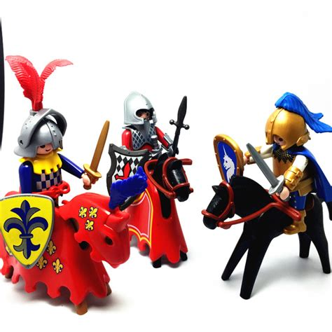 1 piece 7cm New Playmobil Knight action figures Playmobil ...