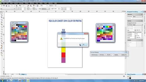 #1 RGB to CMYK conversion   color conversion! how to ...