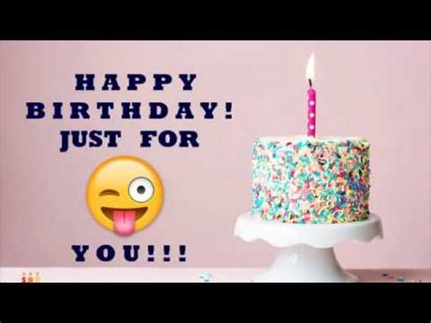 #1 World s Most Funny Happy Birthday Wish Song   YouTube