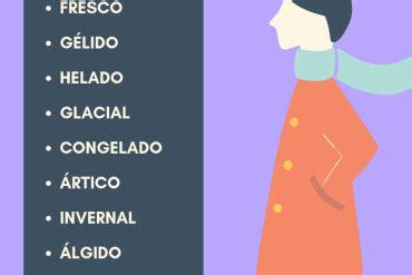 10 adjetivos relacionados con el frío | Enseñando español ...