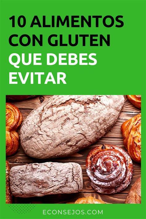 10 Alimentos que tienen gluten y no lo sabías | Alimentos ...