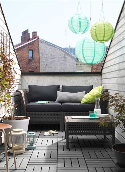 10 Balcony Design That Inspire From IKEA | Home Design And ...