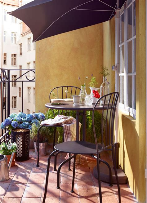 10 Balcony Design That Inspire From IKEA | HomeMydesign