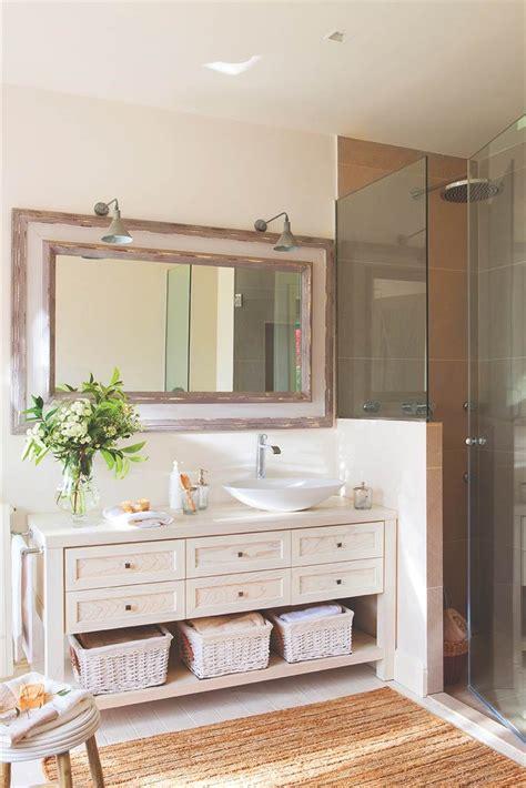 10 baños con ideas superprácticas | Muebles de baño ...