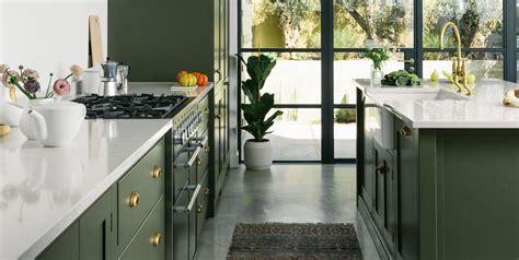 10 cocinas decoradas en color verde