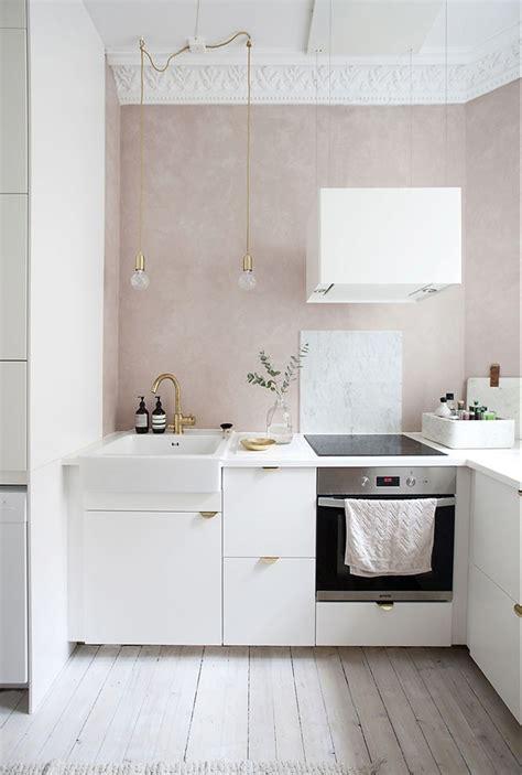 10 cozinhas lindas com paredes na cor rosa   Casa Vogue ...