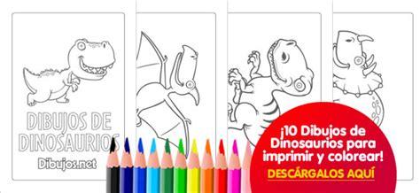 10 Dibujos de Dinosaurios para imprimir y colorear ...