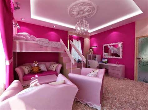 10 Dormitorios color rosa para niña   Ideas para decorar ...