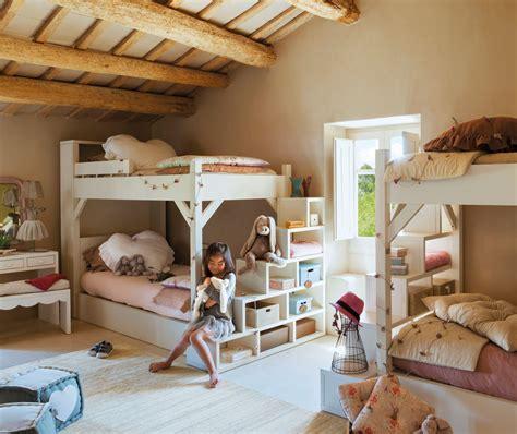 10 dormitorios infantiles rústicos