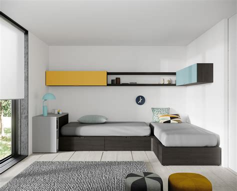 10 Dormitorios juveniles con camas cubo