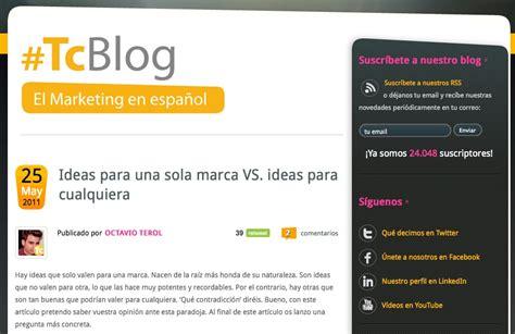 10 ejemplos de blogs corporativos españoles | El Blog de ...