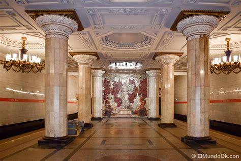 10 estaciones más bonitas del metro de San Petersburgo