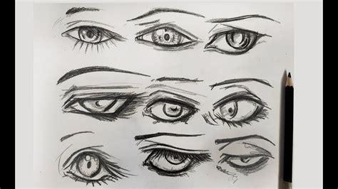 10 Formas de Dibujar Ojos / Fácil y Rápido   YouTube
