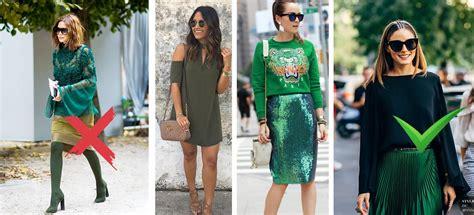 10 formas en combinar el color verde sin verte como señora ...
