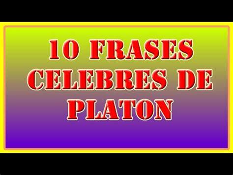 10 Frases Celebres de Platon   YouTube