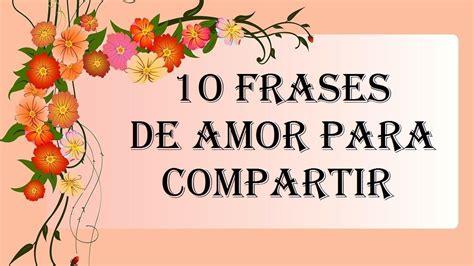 10 frases de amor para compartir con la pareja, novios ...