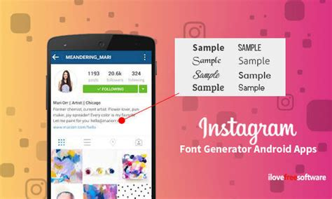 10 Free Instagram Font Generator Android Apps