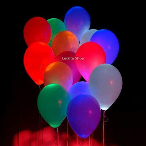 10 Globos Luminosos Led Varios Colores Fiesta Helio Boda ...
