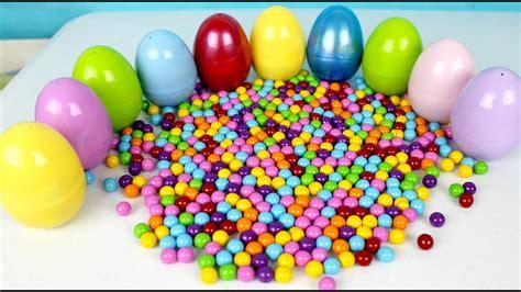 10 Huevos Sorpresa en Español Aprende los Colores   Learn ...