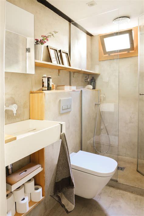 10 ideas geniales para baños pequeños
