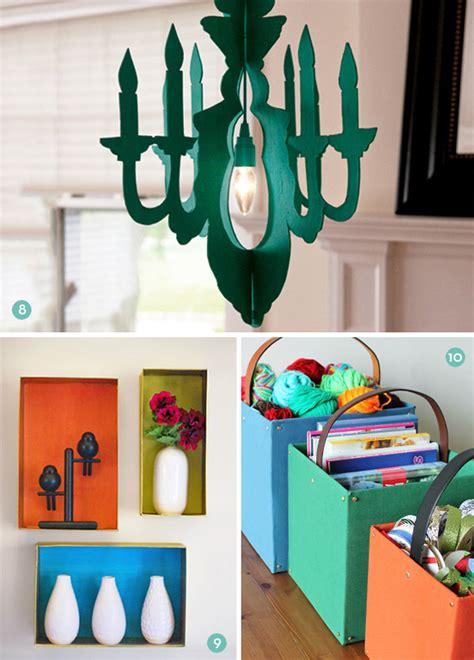 10 ideas para decorar con cartón
