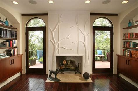 10 ideas para decorar la chimenea del salón   pisos Al día ...
