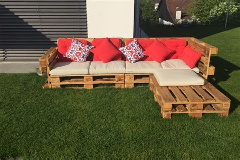 10 Ideas para hacer muebles de jardín con palets ...