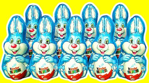 10 Kinder Surprise Bunny Counting Song 1 10 Ultimate ...