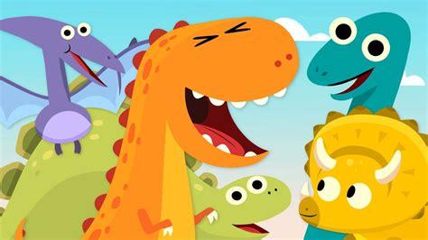 10 Little Dinosaurs Song For Kids   Videosandyou