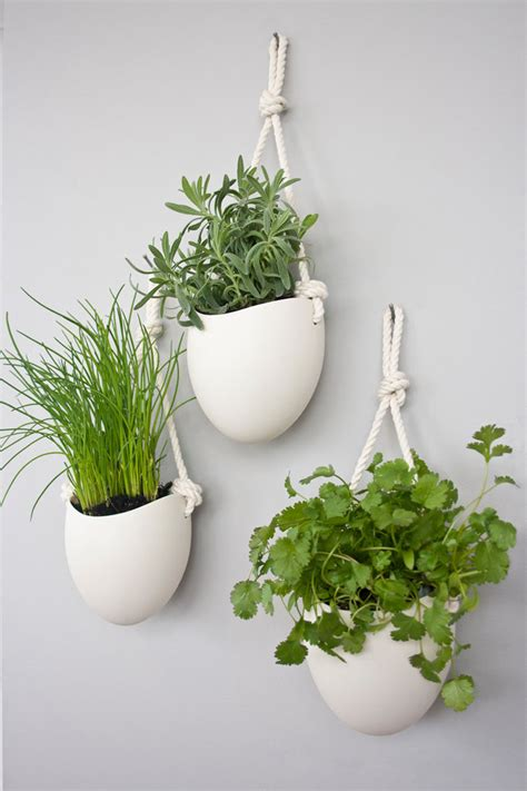 10 Modern Wall Mounted Plant Holders To Decorate Bare Walls