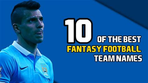10 of the Best Fantasy Football Team Names   YouTube
