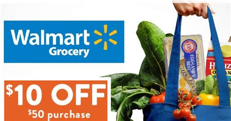 $10 Off $50 Walmart Grocery Online Order   Order Online ...