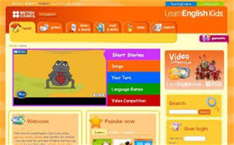 10 páginas web para niños: aprender inglés jugando