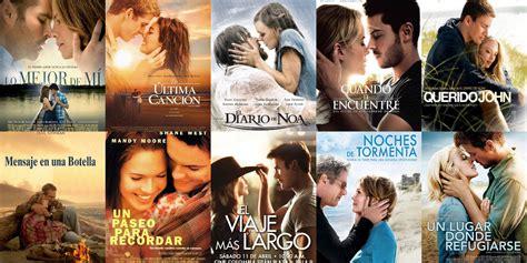 10 películas románticas basadas en novelas de Nicholas ...